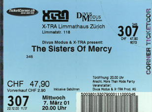 Ticket Sisters of Mercy (17KB)