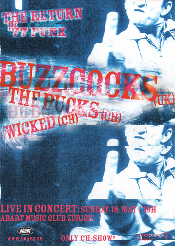 Flyer Buzzcocks (161KB)