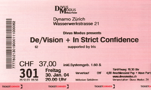 Ticket De/vision (85KB)