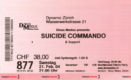 Ticket Suicide Commando (81KB)