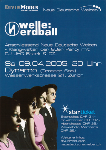 Flyer Welle:Erdball (103KB)