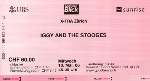 Ticket Iggy & The Stooges (55KB)