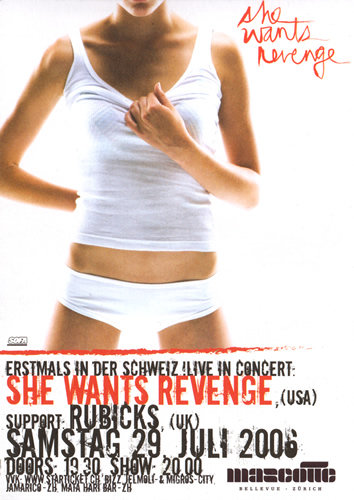 Flyer She wants Revenge (53KB)