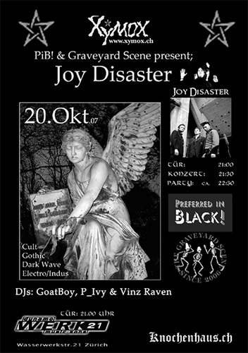 Flyer Joy Disaster (73KB)