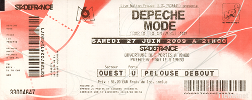 Ticket Depeche Mode (103KB)